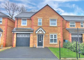 Thumbnail 4 bed detached house for sale in Red Cedar Close, Manchester