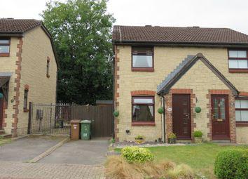 Thumbnail 2 bed semi-detached house for sale in Llyswen, Penpedairheol, Hengoed