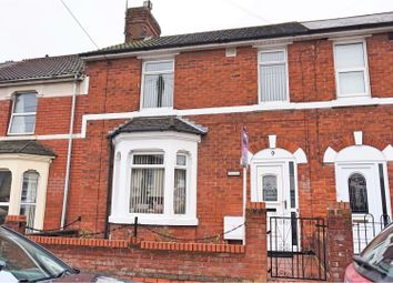 Thumbnail 3 bed terraced house for sale in Grosvenor Road, Swindon