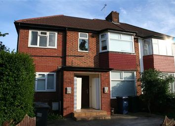 Thumbnail 3 bed flat to rent in Cleveland Gardens NW2, Cricklewood