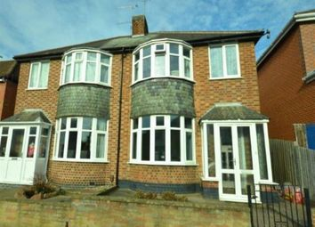 Thumbnail 3 bed semi-detached house to rent in Greenhill Road, Knighton, Leicester