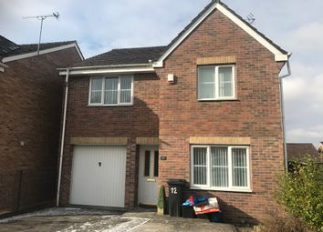 Thumbnail 4 bed detached house to rent in Oaktree Rise, Twynyrodyn, Merthyr Tydfil