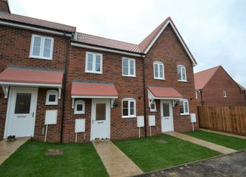 Thumbnail 2 bed terraced house for sale in Carsons Drive, Great Cornard, Sudbury