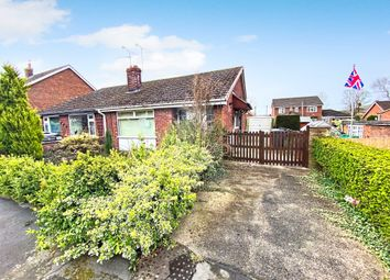 Thumbnail 2 bed semi-detached bungalow for sale in Somerville Close, Waddington, Lincoln