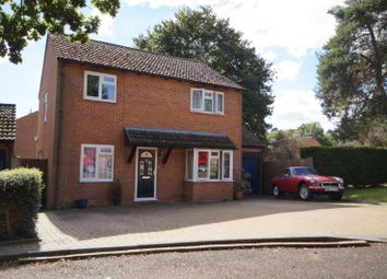 Thumbnail 4 bed detached house for sale in Amber Close, Bordon