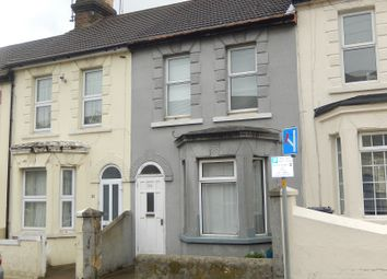 Thumbnail 3 bedroom terraced house for sale in Belmont Road, Gillingham, Kent.