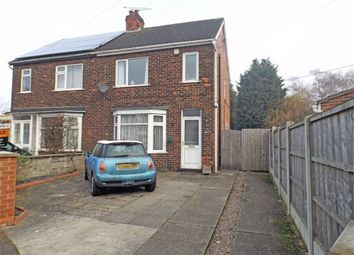 Thumbnail 2 bed semi-detached house for sale in Haig Avenue, Scunthorpe, Lincolnshire