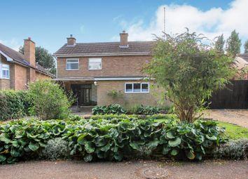 Thumbnail 3 bed detached house for sale in Grange Crescent, Orton Longueville, Peterborough
