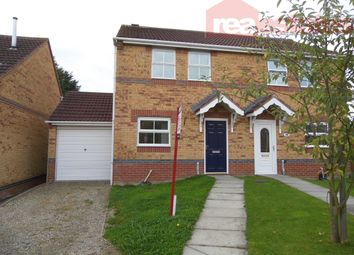 Thumbnail 3 bed semi-detached house to rent in Thornhill Close, Shildon