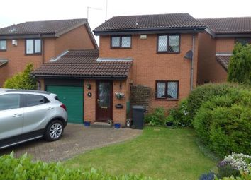 Thumbnail 3 bedroom detached house for sale in Wardlow Close, West Hunsbury, Northampton, Northamptonshire