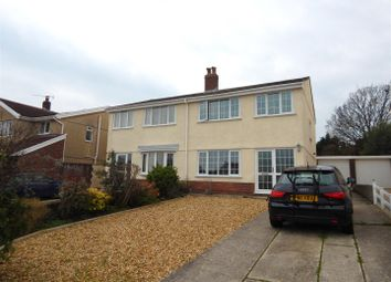 Thumbnail 3 bed semi-detached house for sale in The Orchard, Newton, Swansea