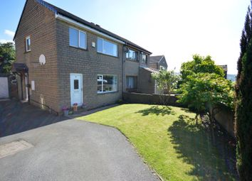 Thumbnail 3 bed semi-detached house for sale in Oak Tree Avenue, Scholes, Holmfirth