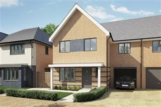 Thumbnail 4 bed semi-detached house for sale in Bellway At Qeii, Howlands, Welwyn Garden City