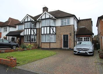 Thumbnail 4 bed semi-detached house for sale in Tabor Gardens, Cheam, Sutton