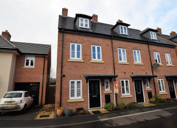 Thumbnail 3 bed town house for sale in Coleridge Way, Oakham
