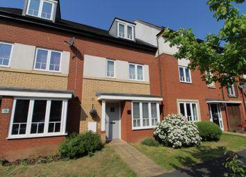 Thumbnail 4 bed town house for sale in Sakura Walk, Willen Park, Milton Keynes