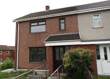 Thumbnail 2 bed semi-detached house to rent in Longview Road, Clase, Swansea.