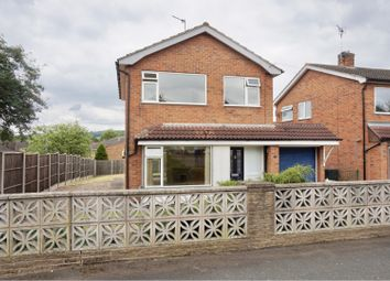 Thumbnail 3 bed detached house for sale in Langdale Avenue, Loughborough