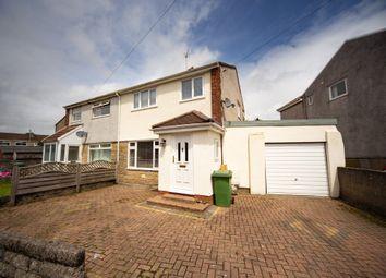 Thumbnail 3 bedroom semi-detached house for sale in St. Annes Drive, Llantwit Fardre, Pontypridd