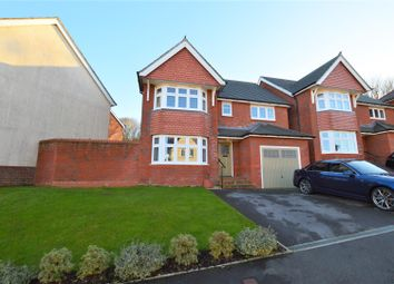 Thumbnail 4 bed detached house for sale in Ffordd Dol Y Coed, Llanharan, Pontyclun