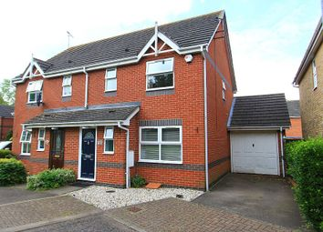 Thumbnail 3 bed semi-detached house for sale in Hazel Drive, South Ockendon, Essex