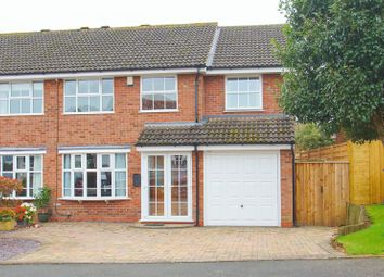 Thumbnail 4 bed semi-detached house for sale in Maisemore Close, Church Hill North, Redditch, Worcs.