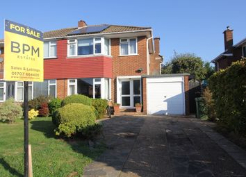 Thumbnail 3 bed semi-detached house for sale in Torrington Drive, Potters Bar