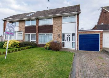 Thumbnail 3 bed semi-detached house for sale in Northwood Drive, Sittingbourne