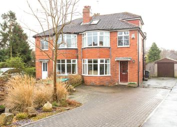 Thumbnail 4 bed semi-detached house for sale in Far Moss, Leeds, West Yorkshire