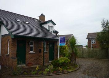 Thumbnail 2 bedroom semi-detached house to rent in Hillside Gardens, Bangor