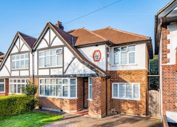 Manor Drive North, Worcester Park KT4. 4 bed semi-detached house for sale
