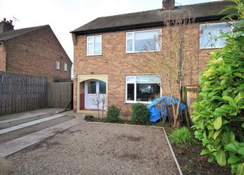 Thumbnail 3 bed semi-detached house for sale in Poplars Lane, West Knapton, Malton