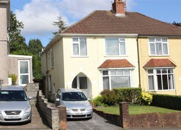Thumbnail 3 bed semi-detached house for sale in Goetre Fawr Road, Killay, Swansea