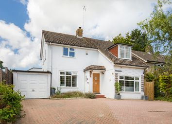 Thumbnail 4 bed detached house to rent in Church Road, Lingfield