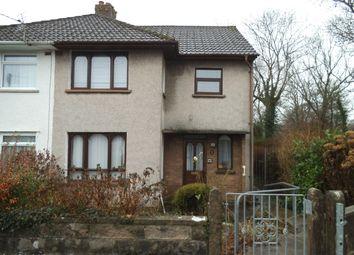 Thumbnail 3 bed semi-detached house for sale in Protheroe Avenue, Penyfai, Bridgend