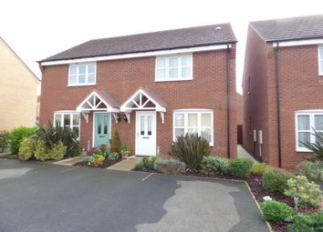 Thumbnail 2 bed semi-detached house for sale in Howgate Close, Sileby, Loughborough, Leicestershire
