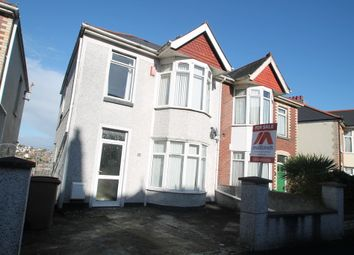 Thumbnail 3 bed semi-detached house for sale in Ladysmith Road, Plymouth