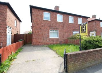 Thumbnail 3 bed semi-detached house for sale in Coquet Avenue, South Shields