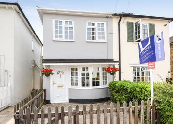 Thumbnail 3 bedroom semi-detached house for sale in Anderson Road, Weybridge
