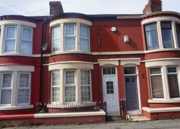 Thumbnail 4 bedroom terraced house for sale in Westdale Road, Wavertree, Liverpool