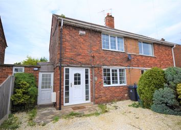 Thumbnail 2 bed semi-detached house for sale in Laburnum Drive, Armthorpe, Doncaster