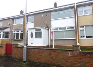 Thumbnail 3 bed terraced house for sale in Gulliver Road, Hartlepool