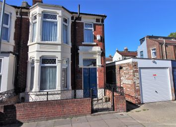Thumbnail 3 bedroom end terrace house for sale in Burlington Road, Portsmouth