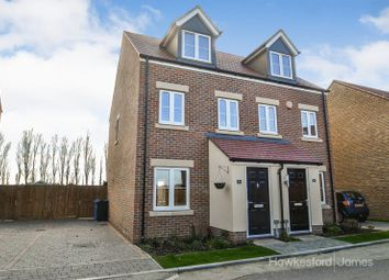 Thumbnail 3 bed semi-detached house for sale in Nutmeg Crescent, Iwade, Sittingbourne