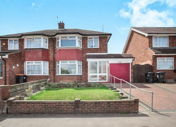 Thumbnail 3 bed semi-detached house for sale in Duncombe Drive, Dunstable