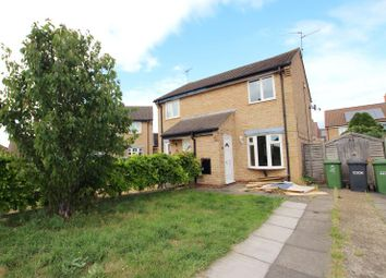 Thumbnail 2 bed semi-detached house to rent in Elm Close, Yaxley, Peterborough