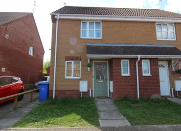 Thumbnail 2 bedroom semi-detached house to rent in Regan Close, Lowestoft