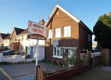 Thumbnail 3 bed end terrace house for sale in Hampton Crescent, Gravesend, Kent