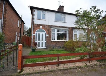 Thumbnail 3 bed semi-detached house for sale in Stanfell Road, Leicester