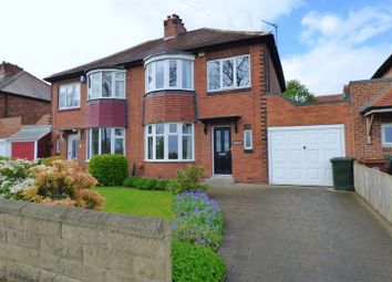 Thumbnail 3 bed semi-detached house for sale in Coast Road, Cochrane Park, Newcastle Upon Tyne